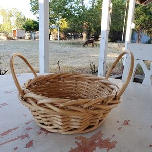 Other - Wicker rattan basket